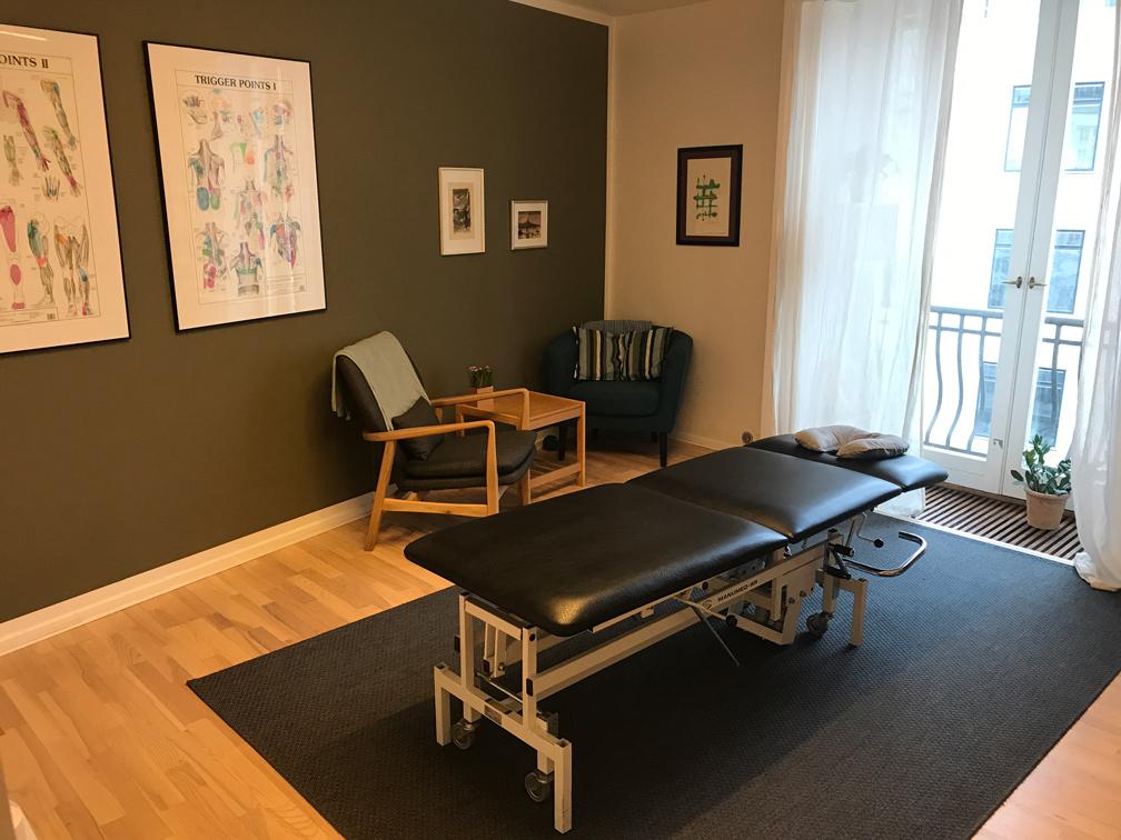 Moderne faciliteter og behandlingsrum Klinik Westend